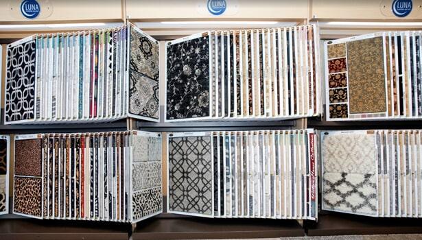 Carpet samples in Schaimburg IL from Luna Flooring Gallery