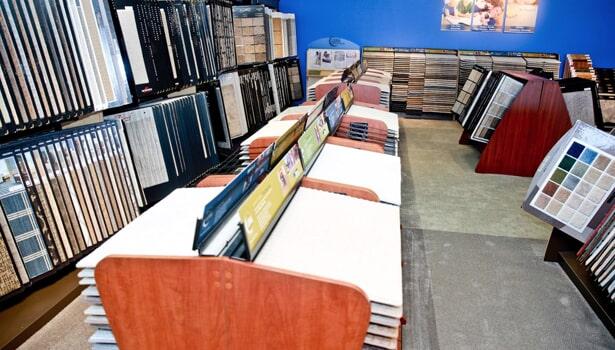 Showroom in Oakbrook Terrace IL from Luna Flooring Gallery