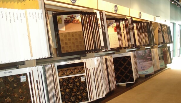 Showroom in Lake Zurich IL from Luna Flooring Gallery