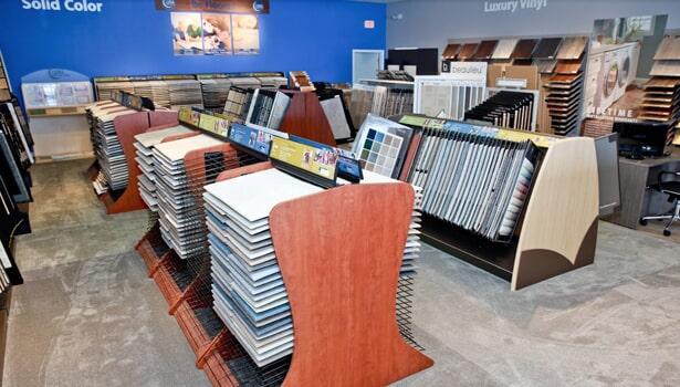 Floor samples in Deerfield IL from Luna Flooring Gallery