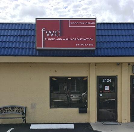 Floors and Walls of Distinction showroom in Sarasota, FL