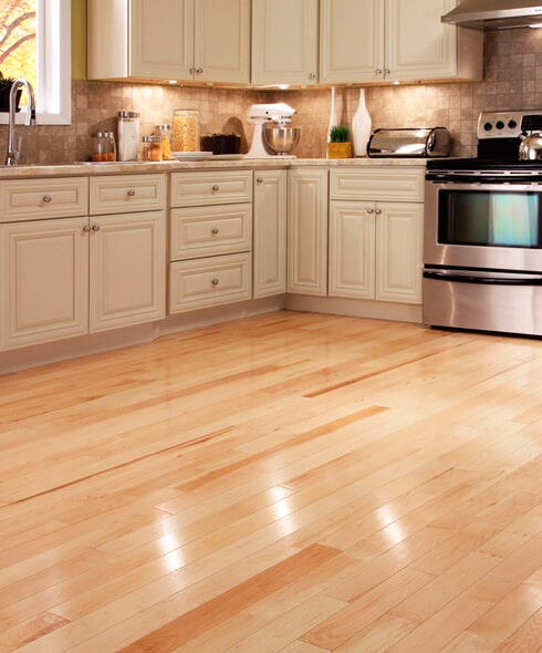 Modern hardwood floors in Raleigh NC from Bell's Carpets & Floors