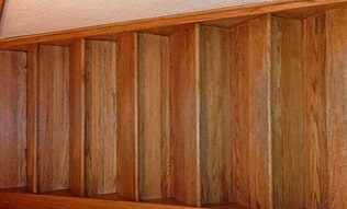 Durable hardwood stairs in Woodland Park CO from Lighthouse Flooring