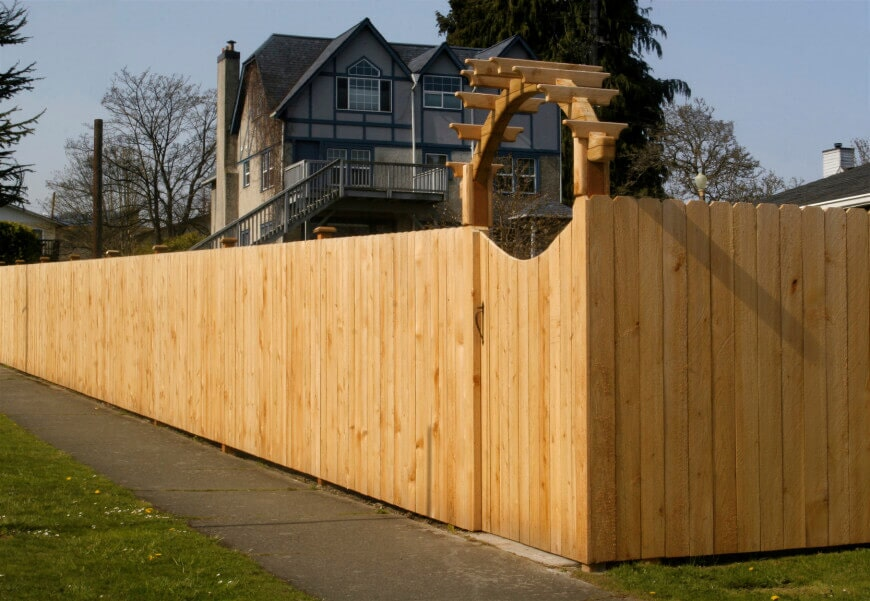 Cedar Wood Fencing