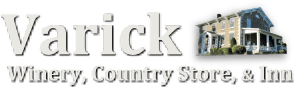 Varick Winery, Country Store & Inn Logo