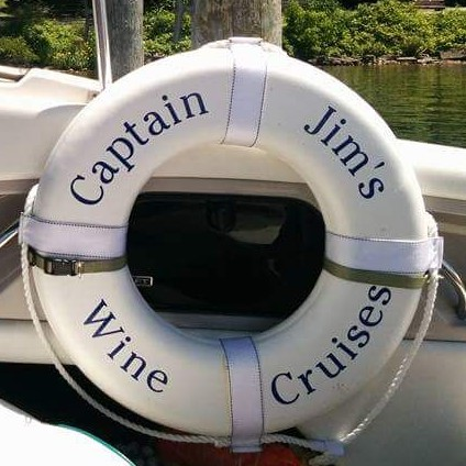 Throwable PFD for Captain Jim's Boat Cruises