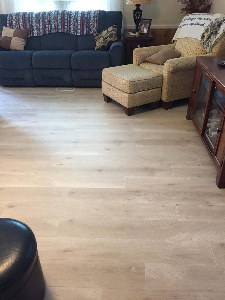 Laminate floors in Bailey NC from Richie Ballance Flooring