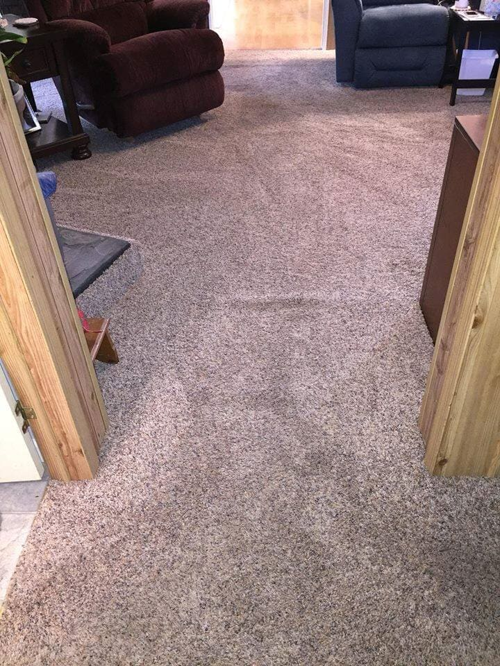 before Laminate floors in Lucama NC from Richie Ballance Flooring