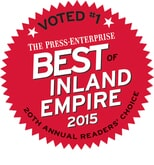 Fair Price Carpets in Riverside CA won Reader's Choice in 2015
