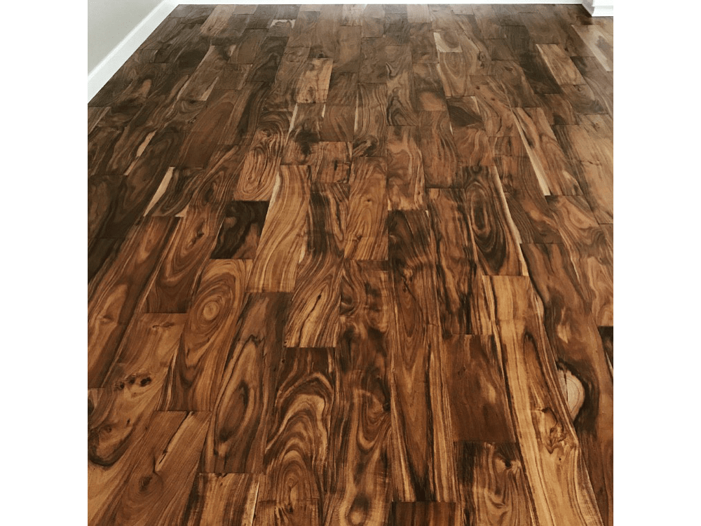 "5"" Exotic hard wood - custom trends to match"