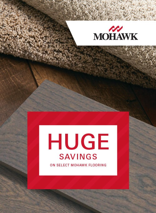 Mohawk Huge savings