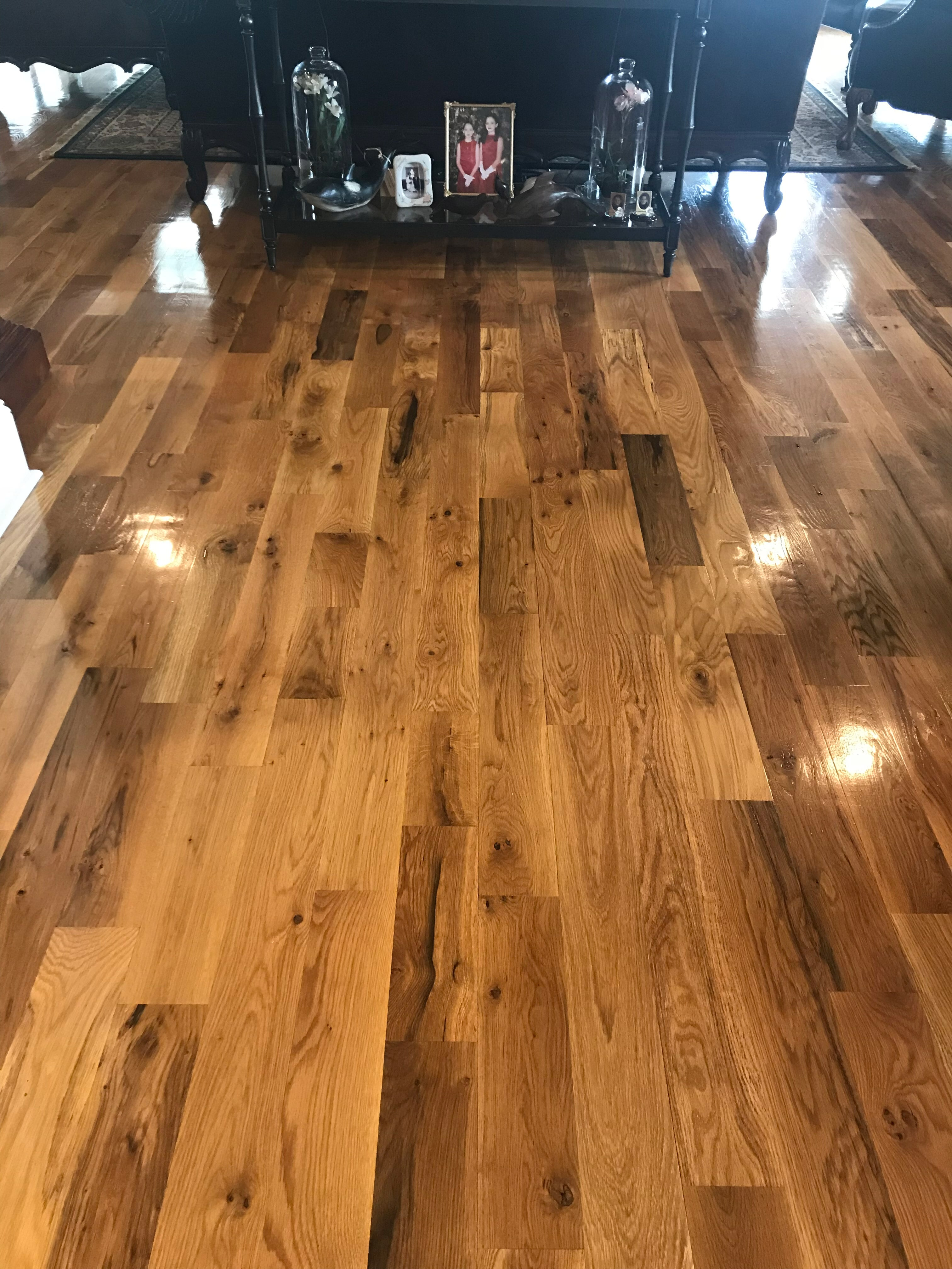 """Unfinished 2 Common White Oak 4 1/4"""" width"""
