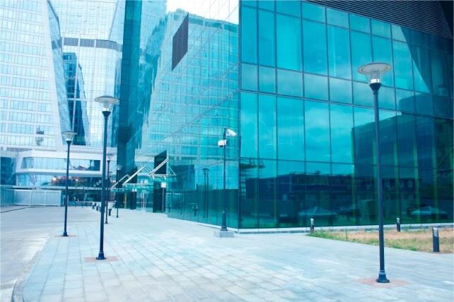 Haro Importadores Cía. Ltda. - Vidrio reflectivo para edificios