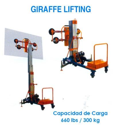 Haro Importadores Cía. Ltda. - Giraffe lifting