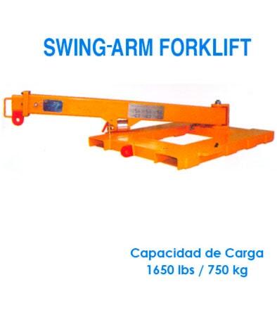 Haro Importadores Cía. Ltda. - Swing-Arm Forklift