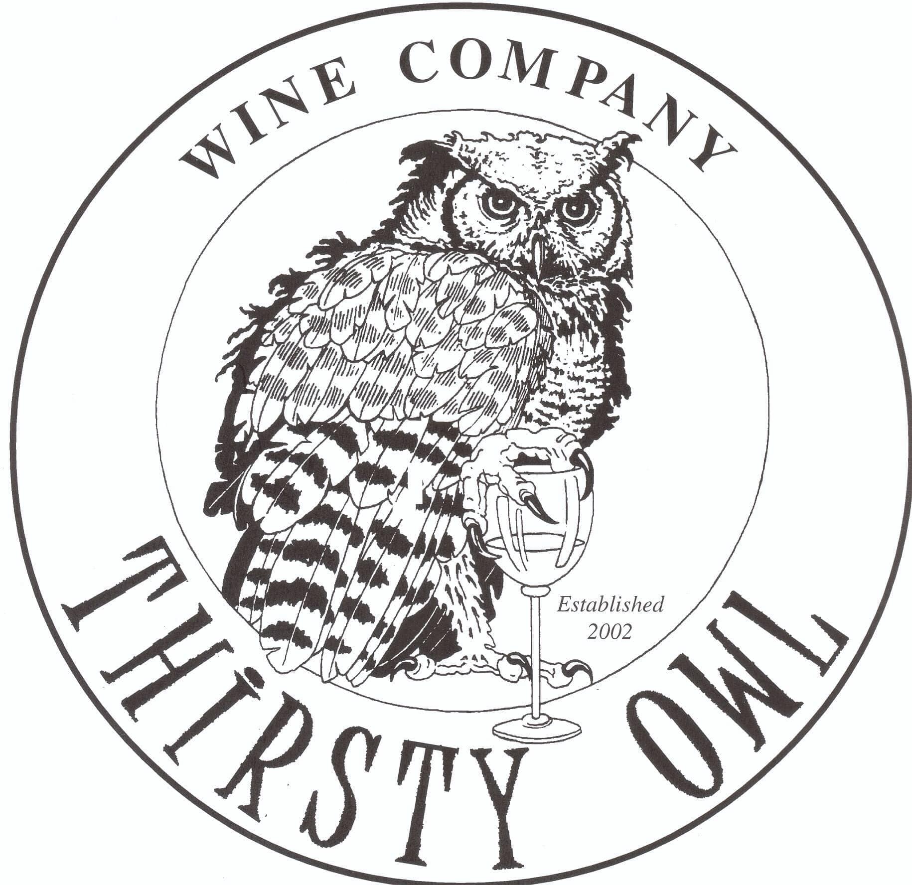 Thirsty Owl Wine Company Logo