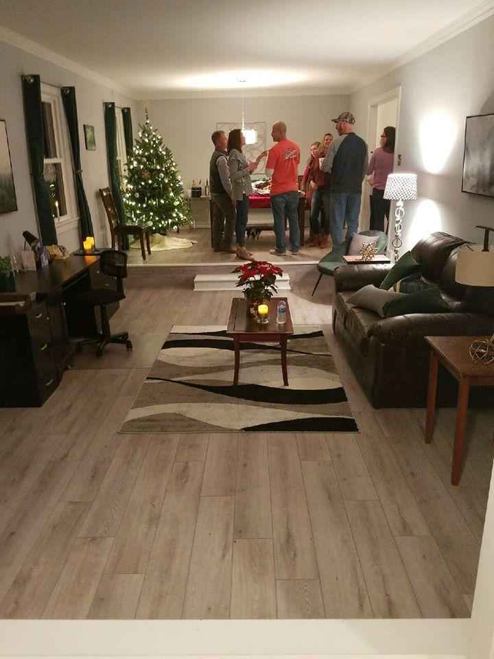 Luxury vinyl plank installed in Wilson, NC from Richie Ballance Flooring & Tile