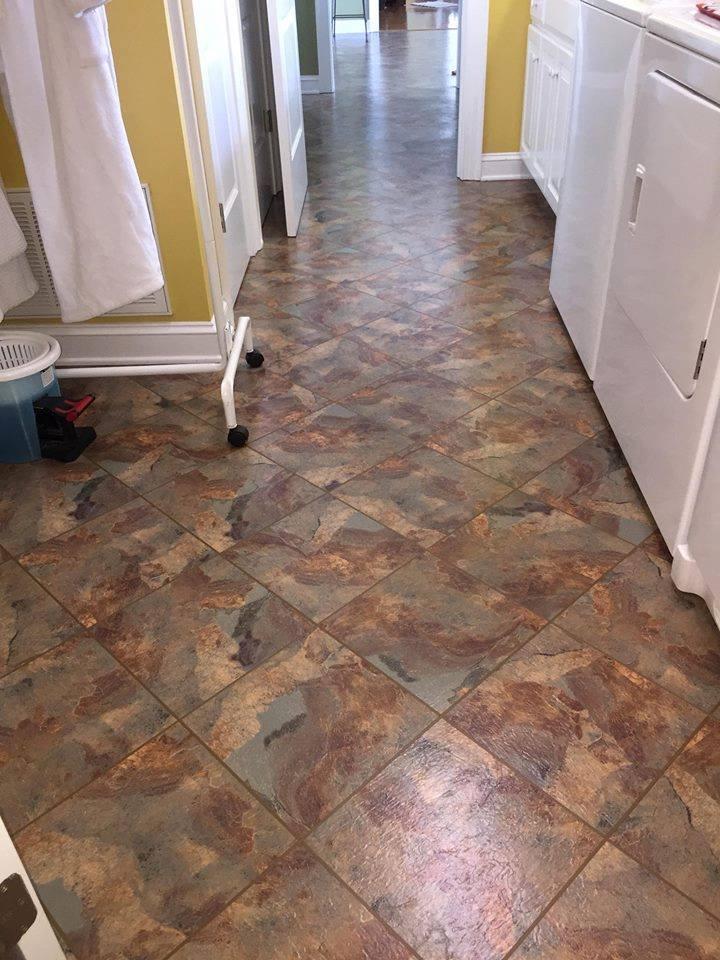 luxury vinyl floors in Lucama NC from Richie Ballance Flooring