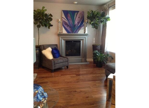 Modern hardwood floors in  Granite Bay CA from Designing Dreams Flooring & Remodeling