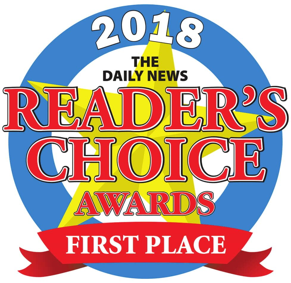 The Daily News Readers Choice First Place Award 2018, Stanford Painting, Mountain View, CA