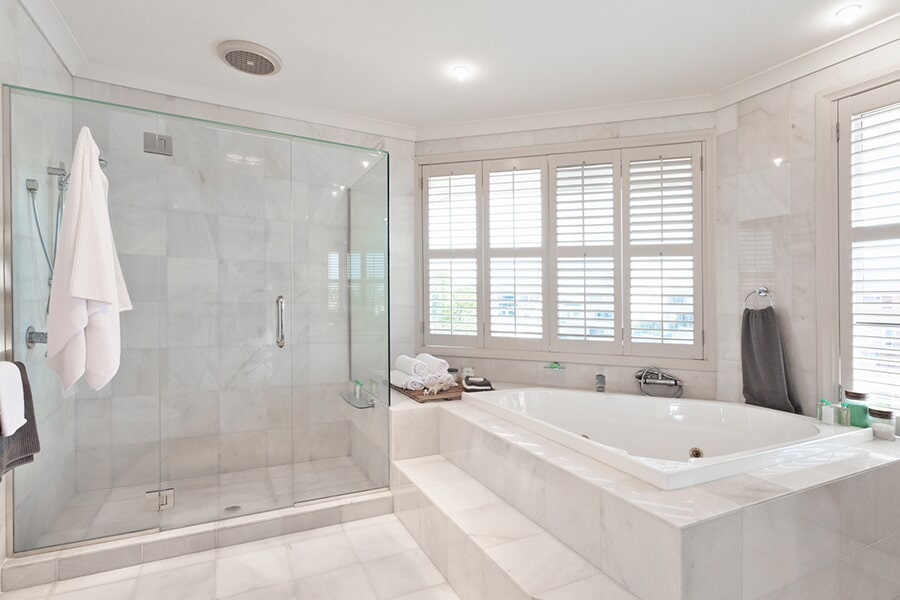 Luxury bathroom tile in Windermere FL from All Floors of Orlando