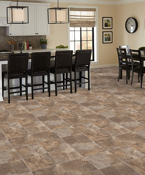 Luxury vinyl tile in Anna IL from L & P Carpet