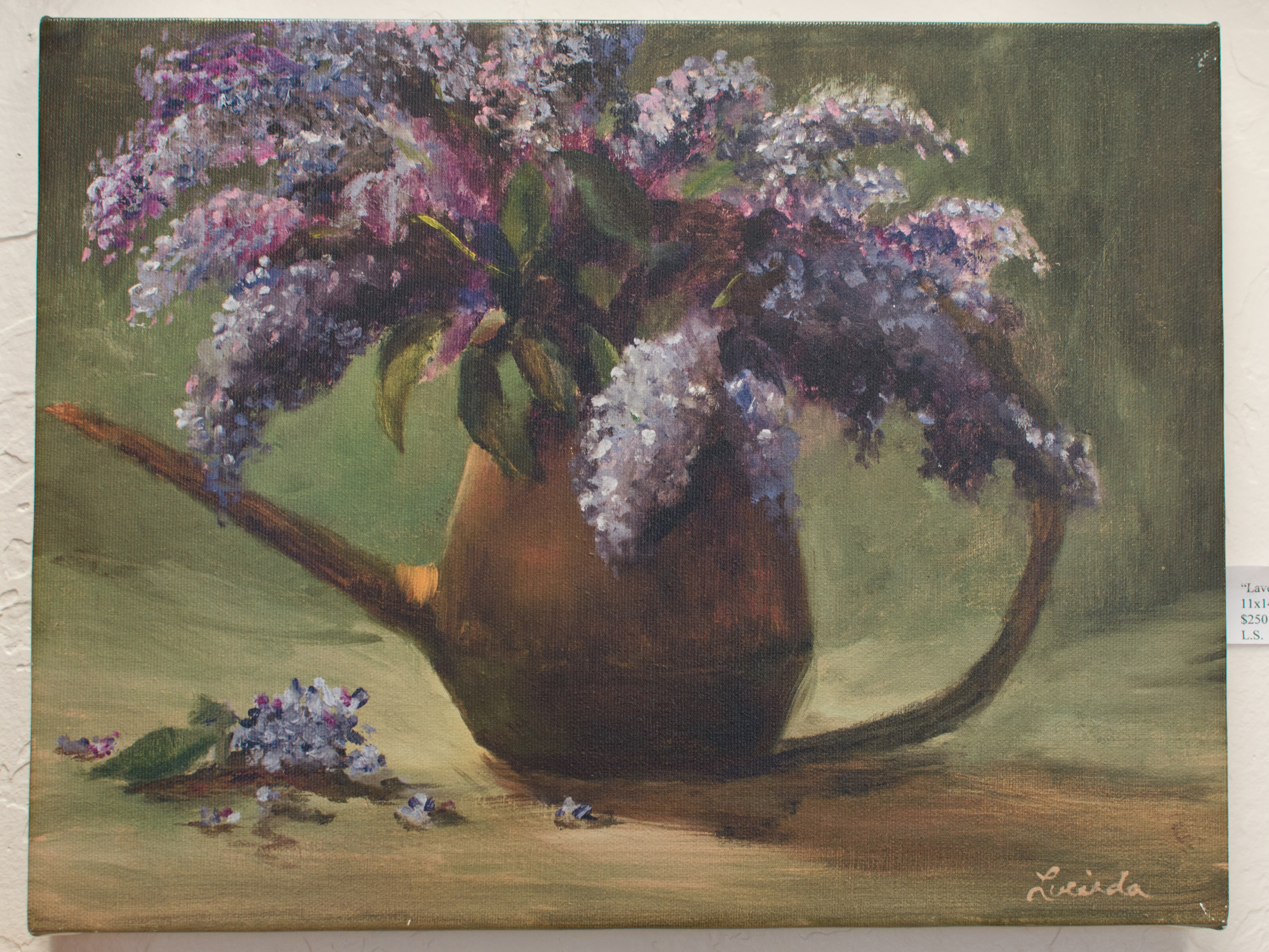 """Lavender Bouquet"" - Lucinda Swain"