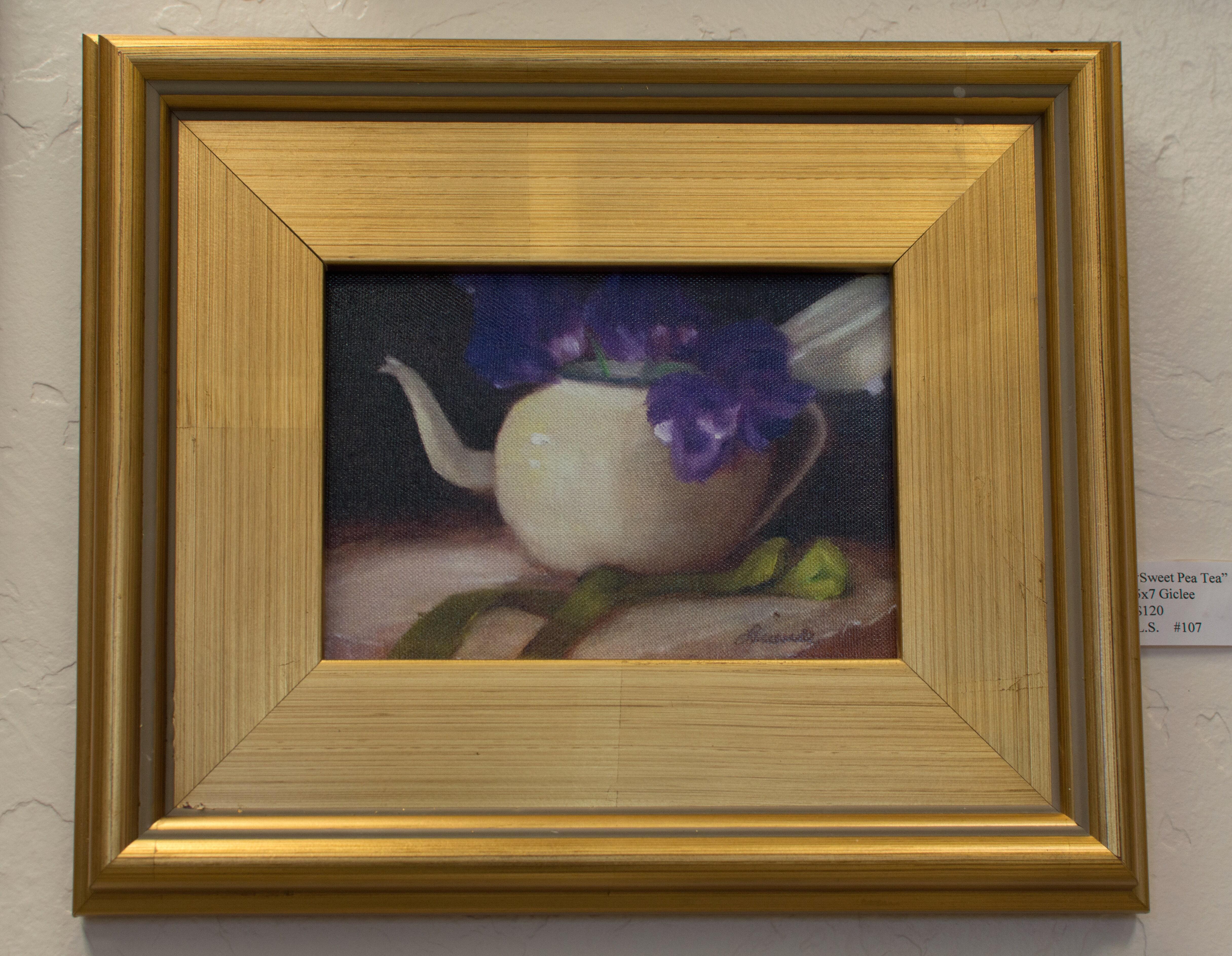 """Sweet Pea Tea"" - Lucinda Swain"
