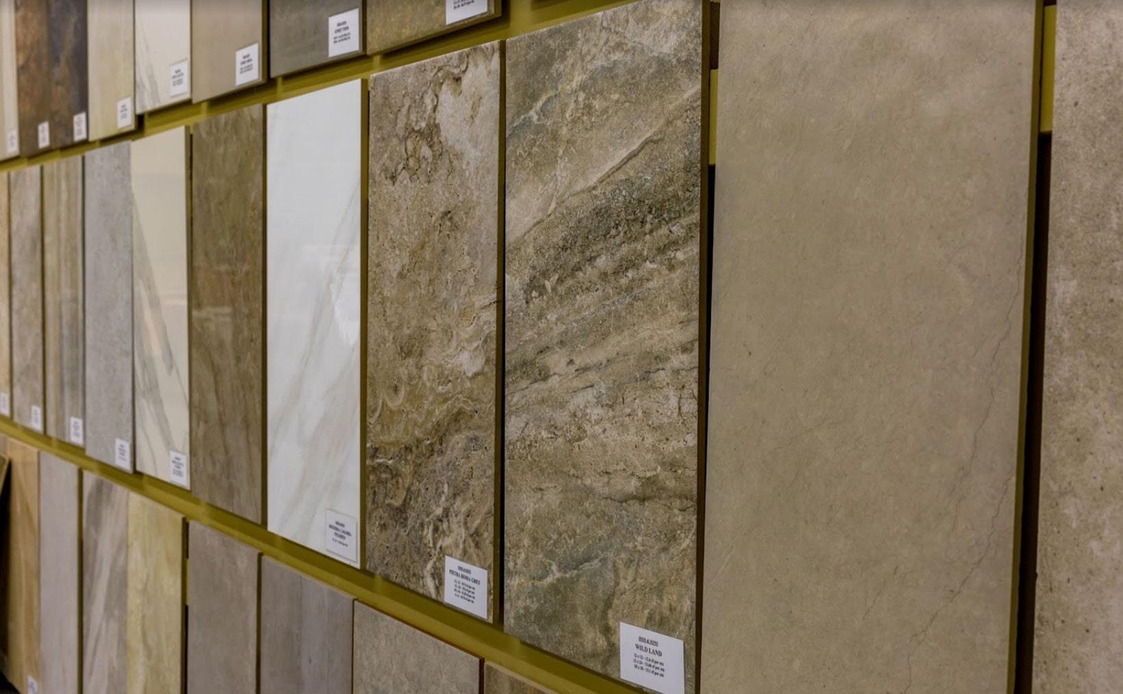 Tile samples in Pelham AL from Issis & Sons