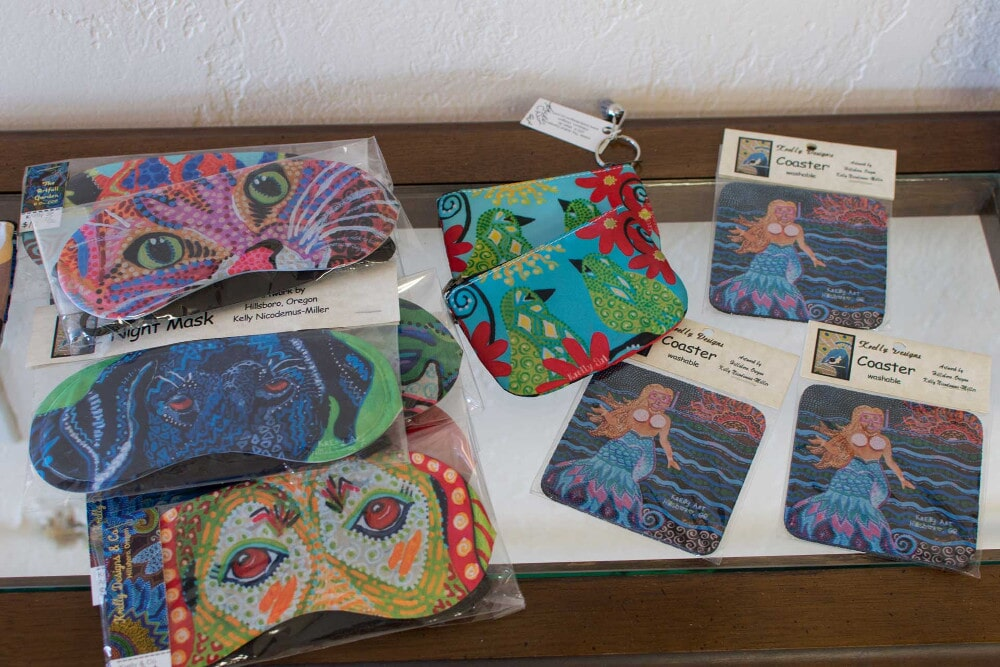 Coasters and Eye Masks by Krelly Designs