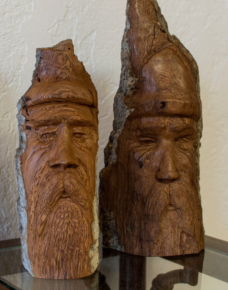 Hand-Carved Statues