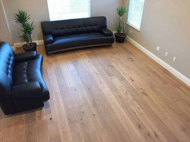 Modern wood floors in Rancho Cordova CA from 916 Floors