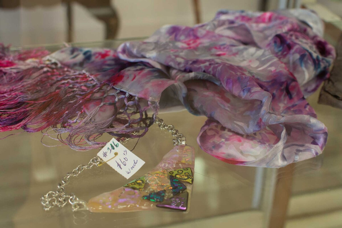 Handmade Jewelry and Scarves