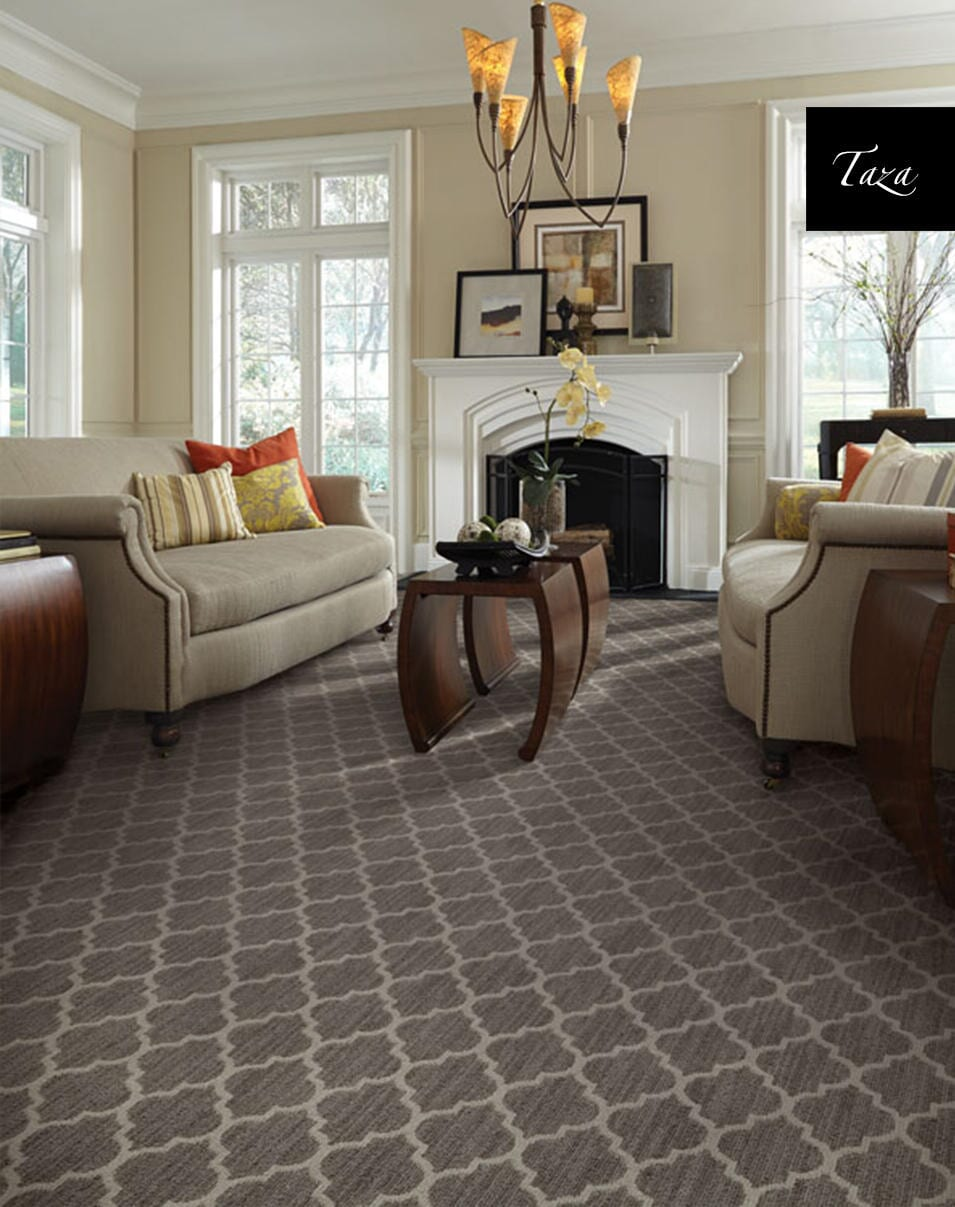 Patterned carpet in Hanover NH from Carpet Mill Flooring USA