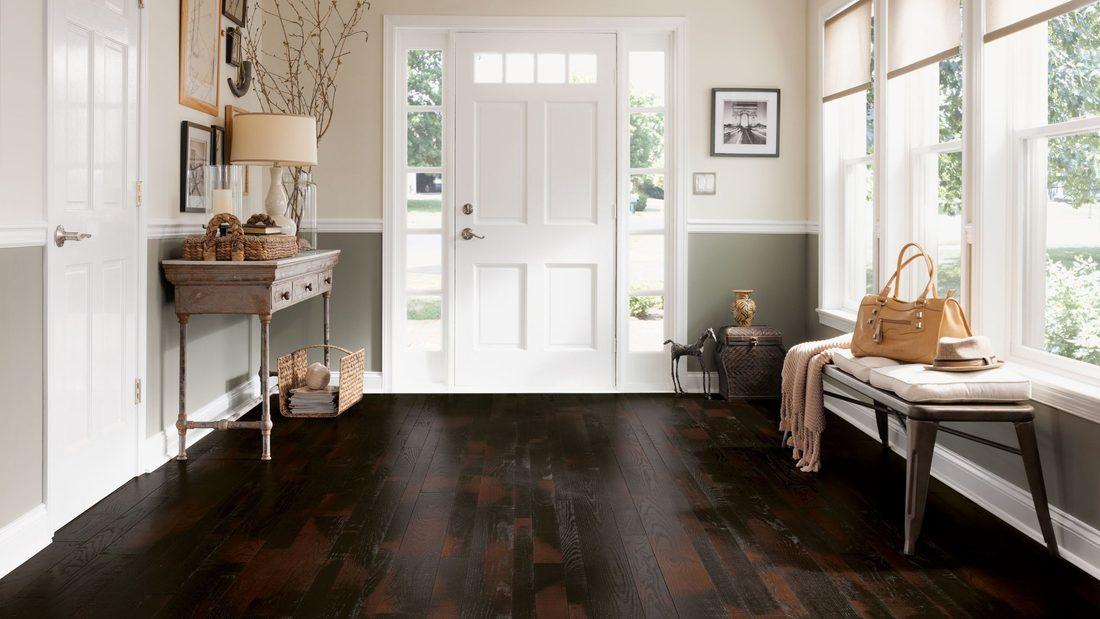 Luxury hardwood floors in Woodstock  VT from Carpet Mill Flooring USA