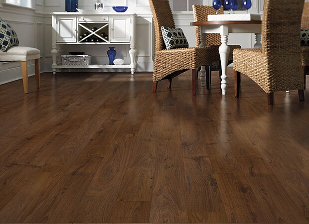 Laminate floor installation in Lebanon NH from Carpet Mill Flooring USA