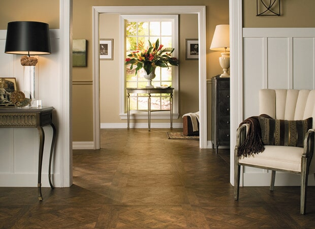 Wood look laminate floors in Hanover NH from Carpet Mill Flooring USA