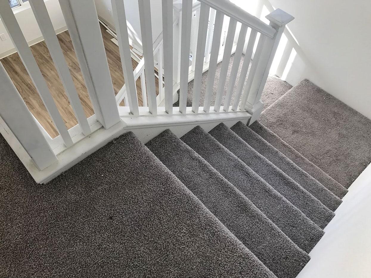 Carpet stairs in Ewa Beach HI from Bauer Flooring & Tile