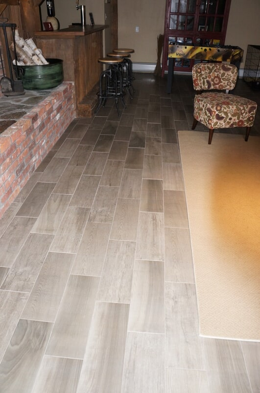 Wood look tile in Grafton NH from Carpet Mill Flooring USA