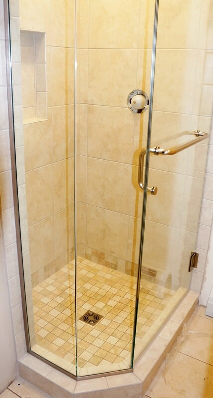 Tile shower in New London NH from Carpet Mill Flooring USA