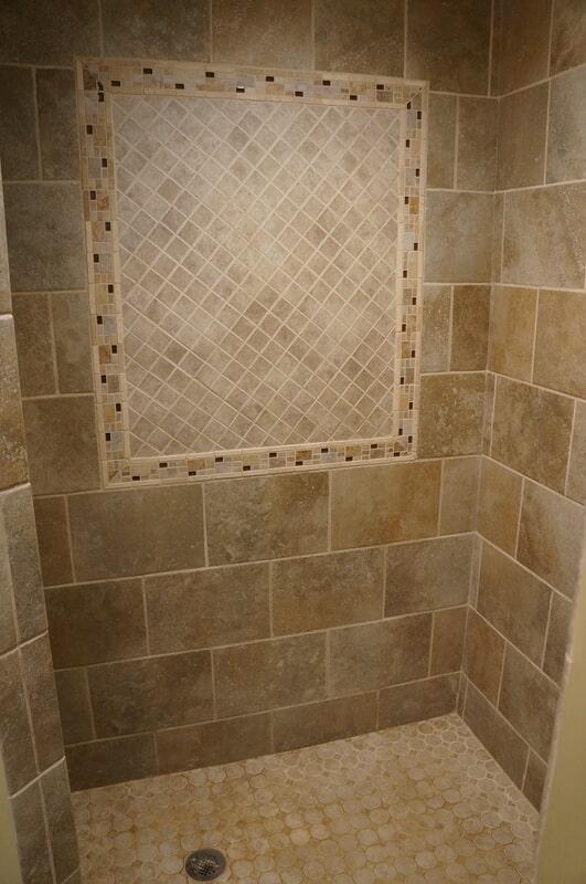 Tile shower in Woodstock VT from Carpet Mill Flooring USA