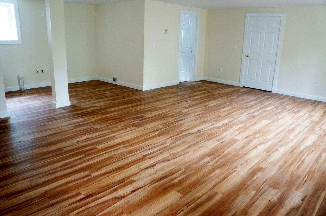 Durable luxury vinyl floors in Lebanon NH from Carpet Mill Flooring USA