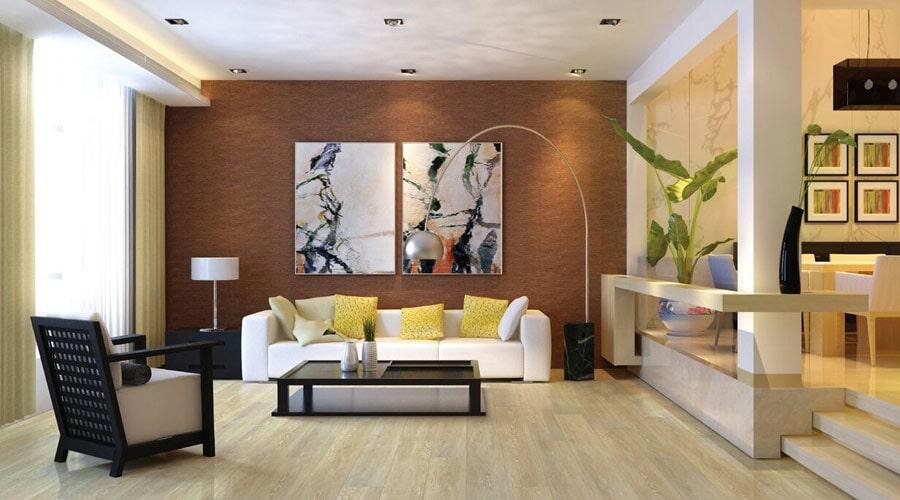 Modern luxury vinyl in New London NH from Carpet Mill Flooring USA