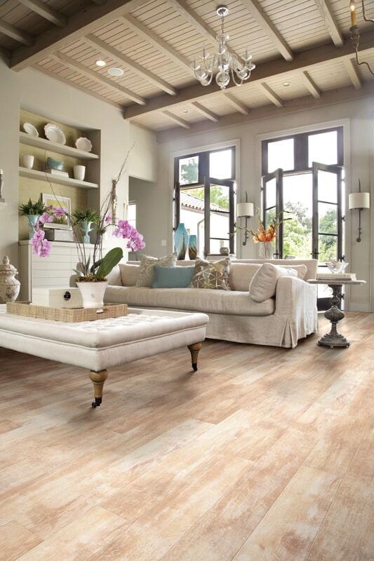 Modern luxury vinyl floors in Woodstock VT from Carpet Mill Flooring USA