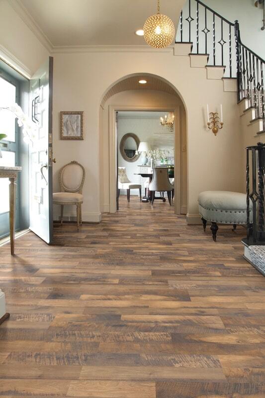 Rustic luxury vinyl in Hanover NH from Carpet Mill Flooring USA
