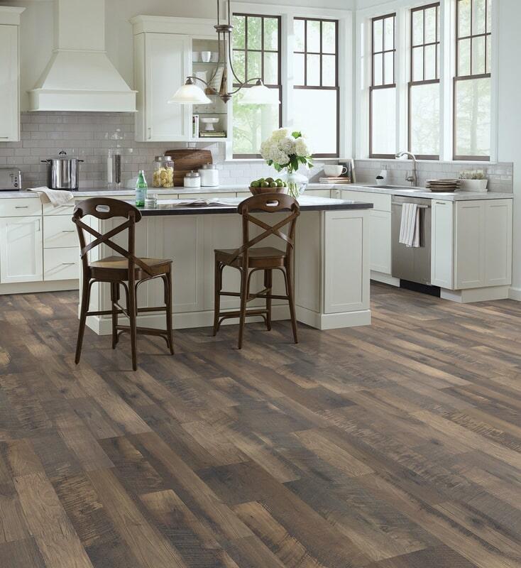 Luxury vinyl floors in Hanover NH from Carpet Mill Flooring USA