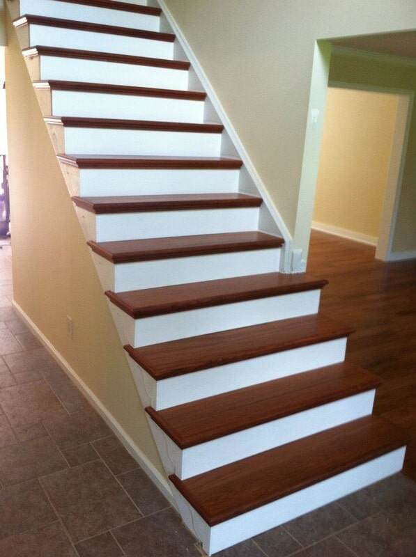 Staircase in Clinton NJ from Washington Flooring