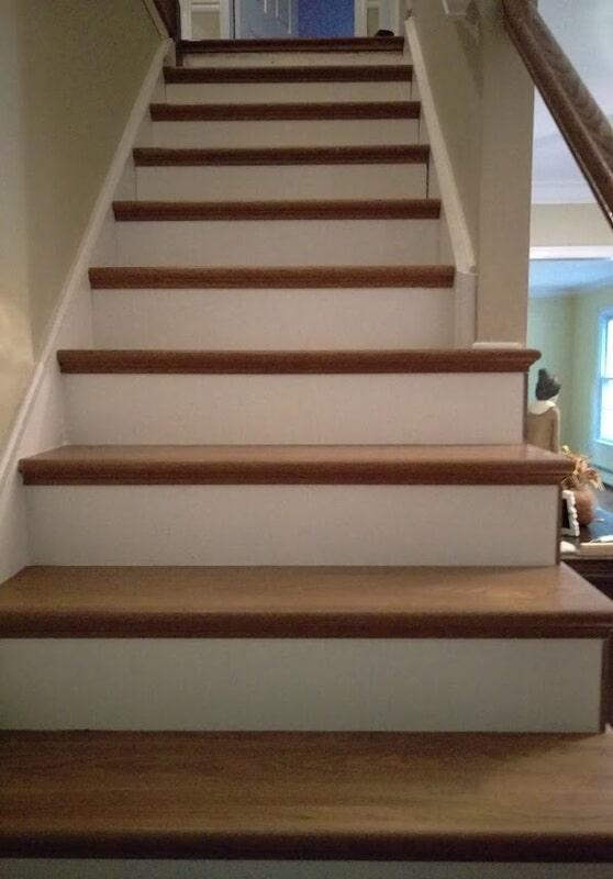 Staircase in Califon NJ from Washington Flooring