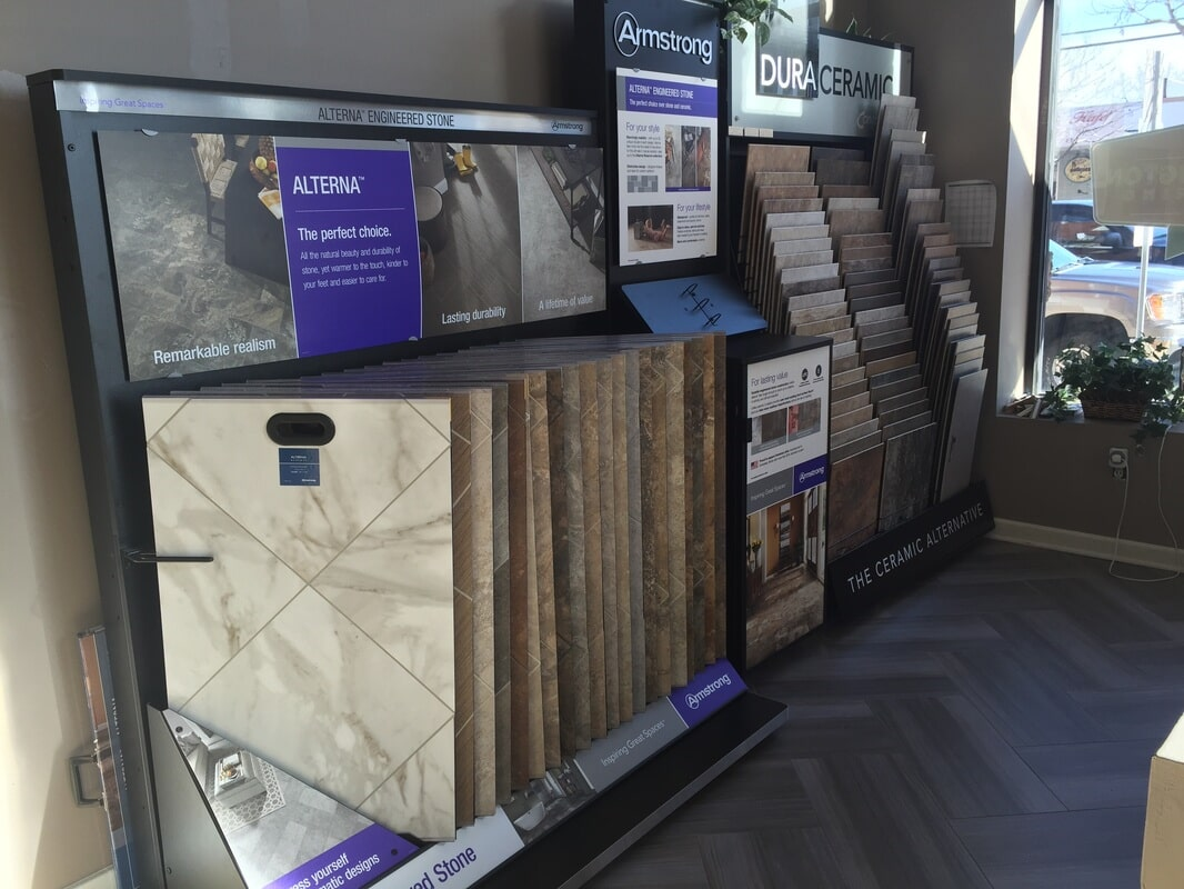 Tile floors in Califon NJ from Washington Flooring