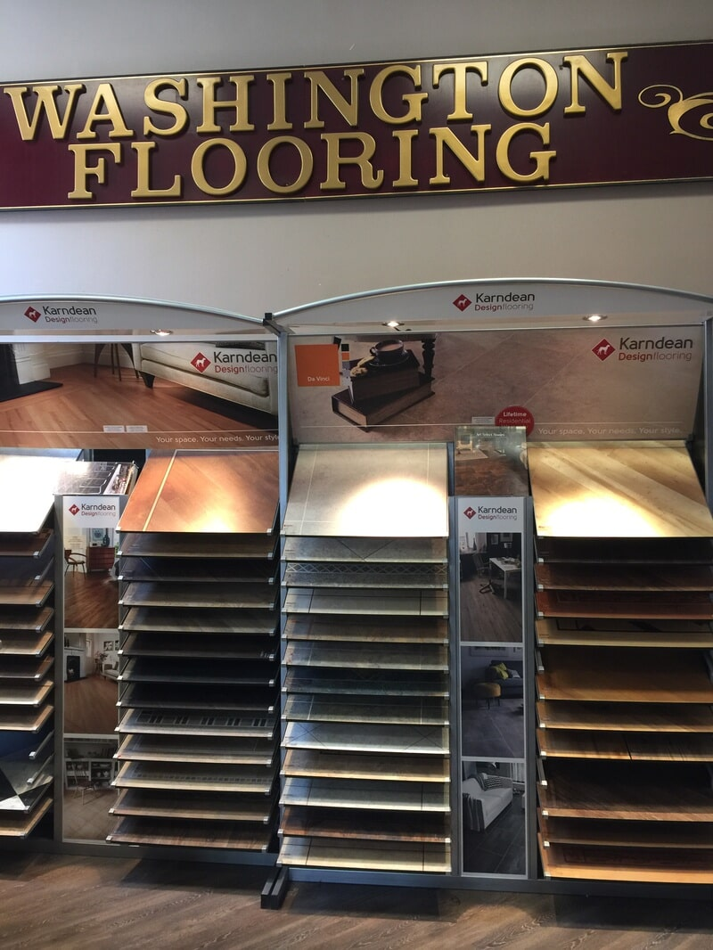 Luxury vinyl in Stewartsville NJ from Washington Flooring